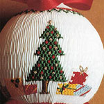 Smocked Christmas Ball